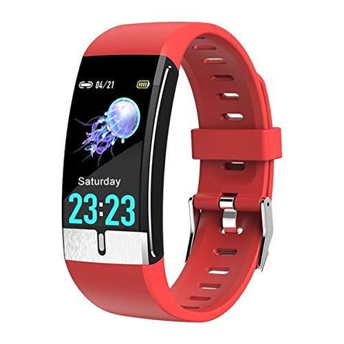 Esenlong Monitor de actividad física con monitor de ritmo cardíaco y sueño, reloj de medición de temperatura, pulsera de ritmo cardíaco, monitor de sueño