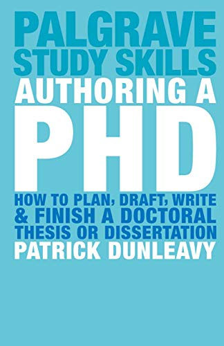 phd dissertation or thesis