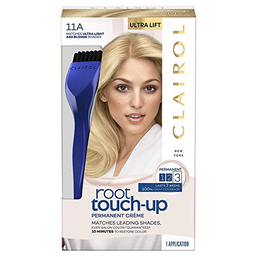 Clairol Clairol root touch-up permanent hair color creme, 11a ultra light ash blonde, 1 count, 6 Fl Ounce
