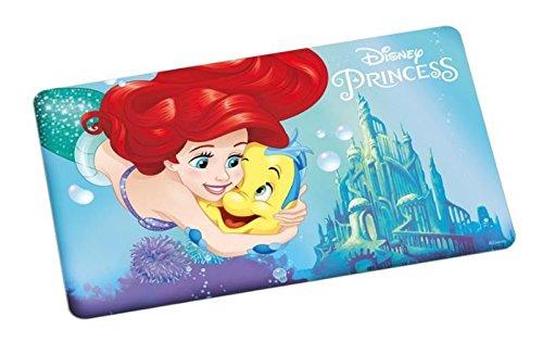 Disney Princess Brettchen, Arielle Brett, Melamin, Mehrfarbig, 23 x 14 x 0.5 cm