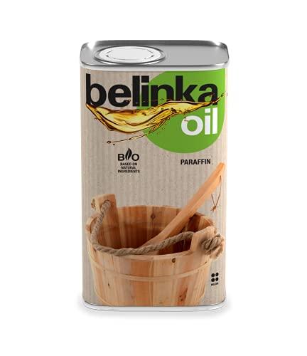 Belinka Holzöl für die Sauna - 0,5 Liter Saunaöl - Pflegeöl für Saunaholz - Schützt das Holz vor dem Austrocknen