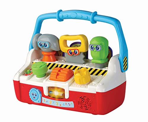 VTech Tool Box Friends Baby Musical Toy, Educational Baby Toy with Music &...
