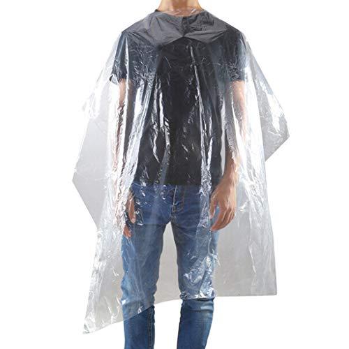 Review 150 pcs Waterproof Disposable Hair Salon Capes Washing Pads Shampoo Cape 110150cm Gray