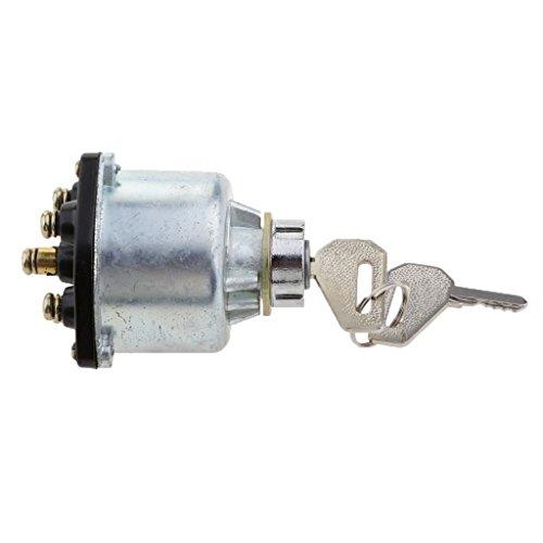 prasku Interruptor de Cilindro de Barril de Cerradura de Encendido de Coche con 2 Llaves Tractores Vehículos