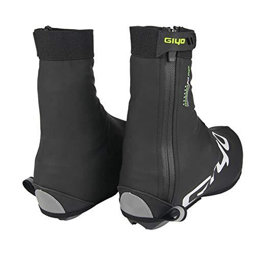 LTDD Cubiertas para zapatos de bicicleta, forro polar impermeable de poliuretano, para...