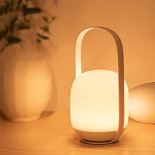 Tragbare Nachtlichter 3000-5000K Stepless Dimming Table Lampe Nachttischlampe Wiederaufladbare LED-Leuchte für den Außenbereich