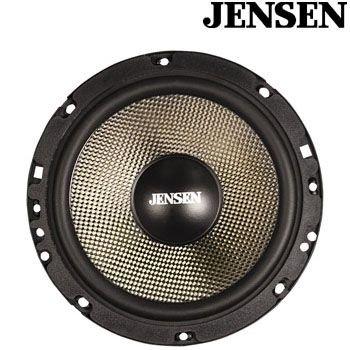 Jensen Carbon65C 6.5 Component Speaker Kit With External Crossover