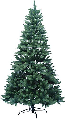 XENOTEC Voll PE Weihnachtsbaum künstlich Höhe ca. 210 cm naturgetreu im Spritzgussverfahren hergestellt