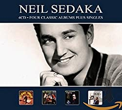 Neil Sedaka 4 Classic Albums Plus Singles