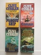 Clive Cussler (Set of 4) Plague Ship; Cosair; Silent Sea; Jungle