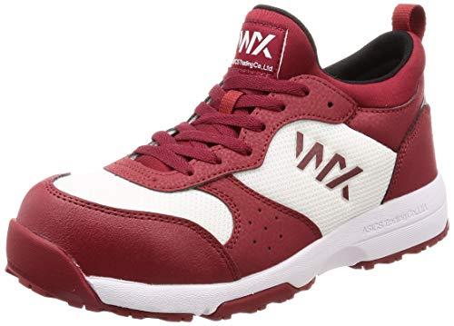[アシックス商事 テクシーワークス] 安全靴 プロテクティブスニーカー WX-0003 メンズ安全靴 バーガンディ 25.5 cm 3E