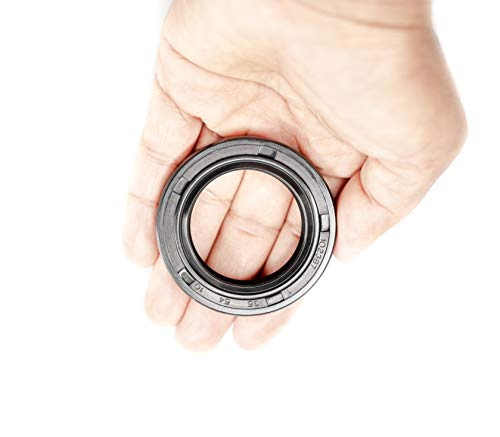EAI Viton Oil Seal 30mm x 45mm x 5mm Lip Seal w//Stainless Steel Spring Metal case w//Viton Rubber Coating