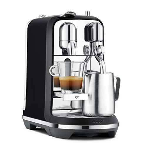 Sage SNE800BSS Nespresso Creatista Plus, met Melkopschuimer, Mat Zwart