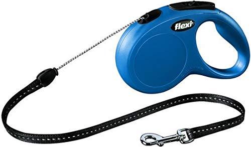 Flexi New Classic Tape - Hondenriem - Blauw - S - 5 m