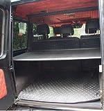 Kaungka Cargo Cover Compatible with 2007 -2018 Mercedes Benz G Class G500 G550 G55 G63 G65 Black Trunk Shielding Shade