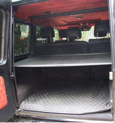 Kaungka Cargo Cover Compatible with 2007 -2018 Mercedes Benz G Class G500 G550 G55 G63 G65 Black Trunk Shielding Shade