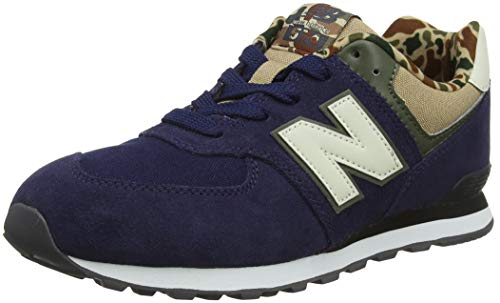 New Balance Herren 574v2 Sneaker, Blau (Pigment/Hemp Hn...