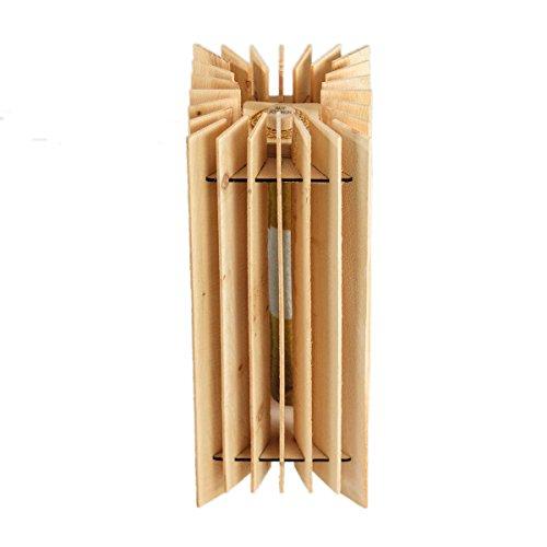 Natürliches Klimagerät aus Zirbe - Lufterfrischer, Raumluftreiniger - Breite: 18 cm, Tiefe: 18 cm, Höhe: 44 cm - Handgefertigt in Tirol