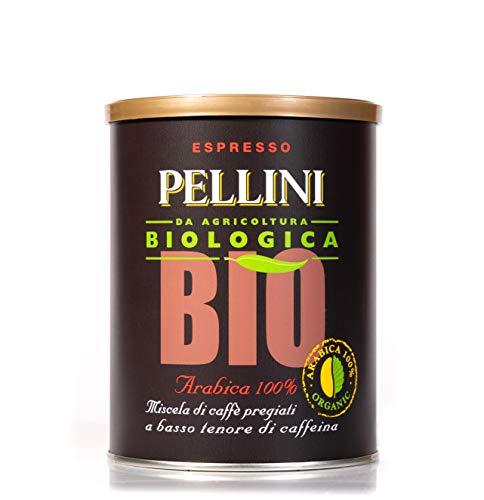 Pellini Café Molido 100% Bio Arábica - 2 Latas de 250 gr (