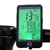 XQxiqi689sy Sport Impermeabile LCD retroilluminazione Bicicletta Computer Touch Ciclismo cablato tachimetro contachilometri