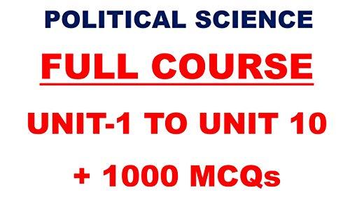 STUDY BHARAT UGC NET POLITICAL SCIENCE ENGLISH MEDIUM