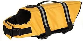 Productos para Mascotas Chaleco Salvavidas Ajustable para Perros con manija de Rescate