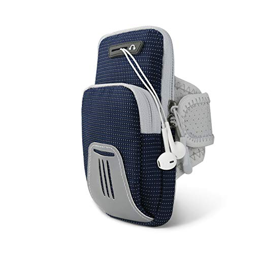 DONWELL Running Armband Phone Holder Bag, Universal Sports Fitness Armband...