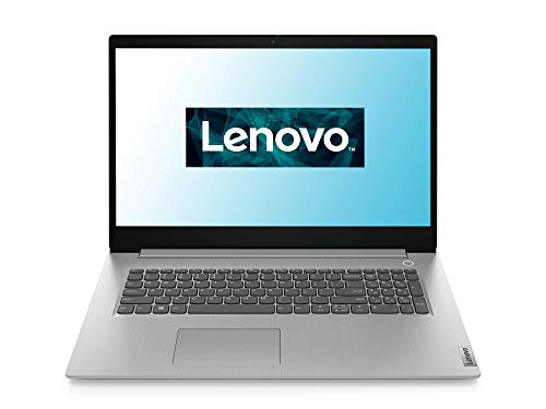 Lenovo IdeaPad 3 Laptop 43,9 cm (17,3 Zoll, 1600x900, HD+, entspiegelt) Slim Notebook (AMD RYZEN 5 3500U, 512GB SSD, 8GB RAM, AMD Radeon Vega 8 Grafik, Windows 10 Home) grau