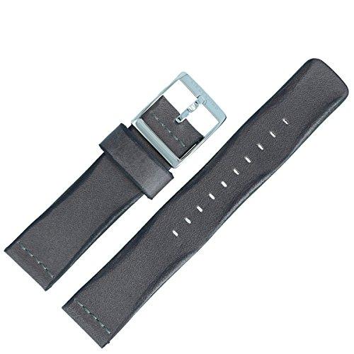 Liebeskind Berlin Uhrenarmband 20mm Leder Grau - B_LT-0043-LM