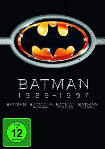 Batman 1-4 [4 DVDs]