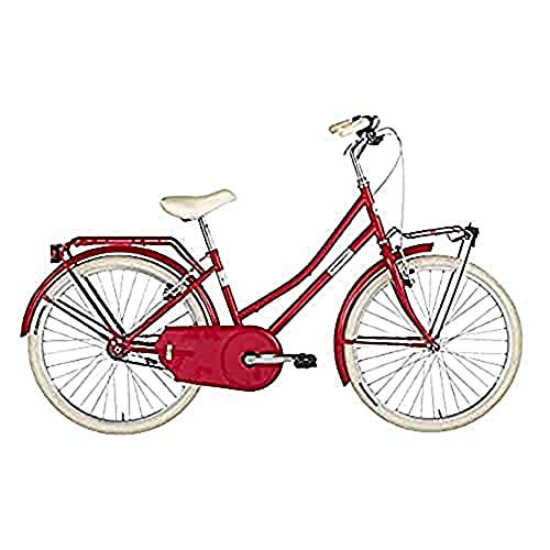 Alpina Bike Olandesina, Bicicletta Ragazza, Fragola, 24'