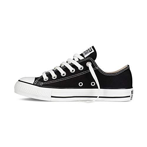 Converse Chuck Taylor All Star Unisex Zapatillas de Lona con una Pegatina de 7kmh Negro 36