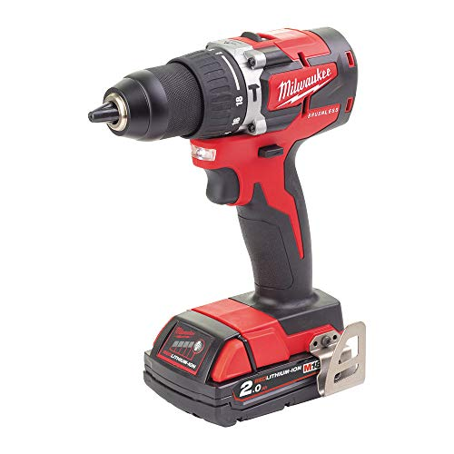 Milwaukee Schlagbohrmaschine 18 Volt 2,0Ah Compact Brushless