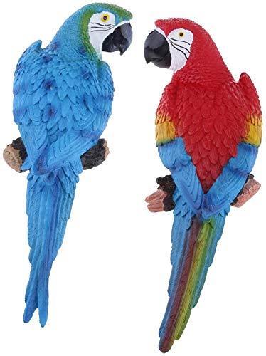 Sunnyway Harz Papagei Tier Rasen Figur...