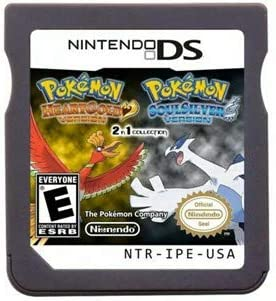 New Pokemon Heart Gold Soul Silve Version Games 2 In 1 USA Reproduction Version For Nintendo product image