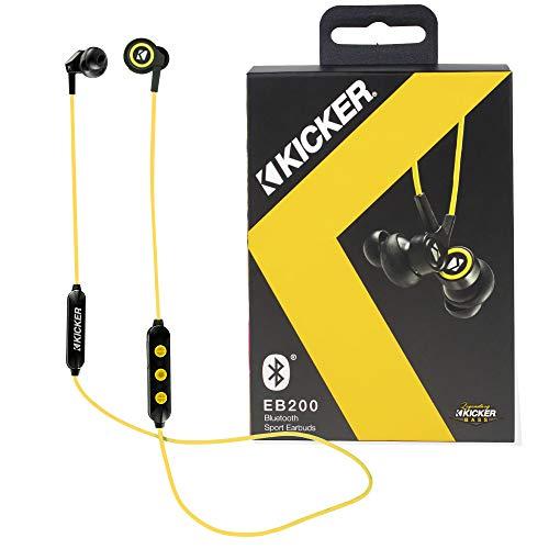 Kicker Bluetooth Wireless Earbuds | Passive Noise Reducing Headphones...