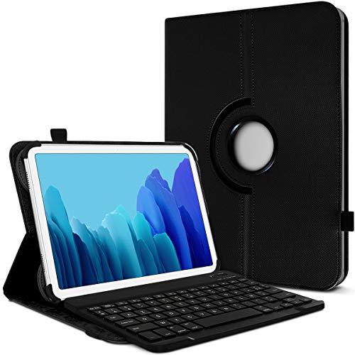 Karylax - Funda de protección y modo soporte horizontal con teclado francés Azerty Bluetooth para tablet Lenovo Yoga Tab 3 Pro de 10 pulgadas, color negro