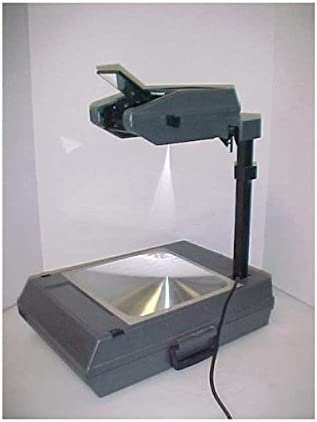 3M 2000AG 2000 Ag Portable Suitcase PRO Overhead Projector