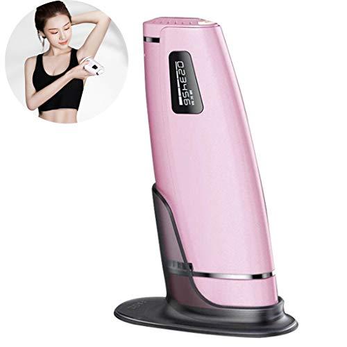 Professionele IPL Laserepilator Permanent Ontharingssysteem Pols LCD Scherm 600000 Flitsen Afneembare Kop Pijnloos Bikini Voor Het Hele Lichaam Voor Vrouwelijke Mannen,Pink