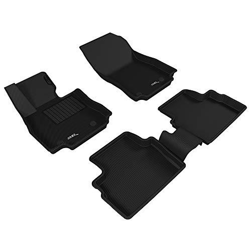 3D MAXpider Allwetter Fussmatten für Mazda 2 Mazda2 2015-2019 Passgenaue Fußmatten Auto Gummi Matten Gummimatten (Ohne Sicherheitsgurtbezug)