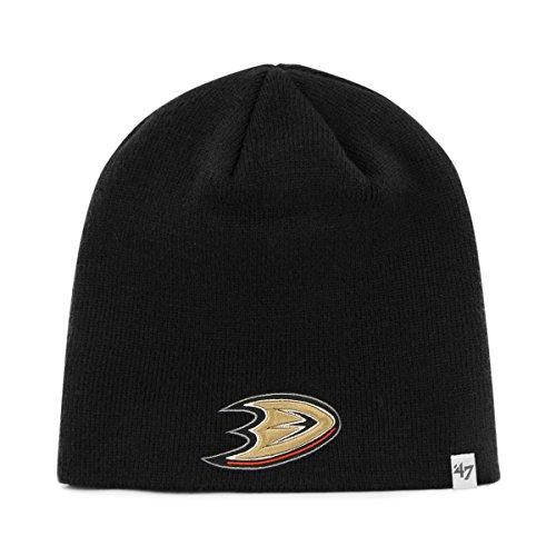 NHL Anaheim Ducks Men's Knit Hat, Black, One Size