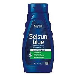 Selsun Blue Moisturizing with Aloe Dandruff Shampoo