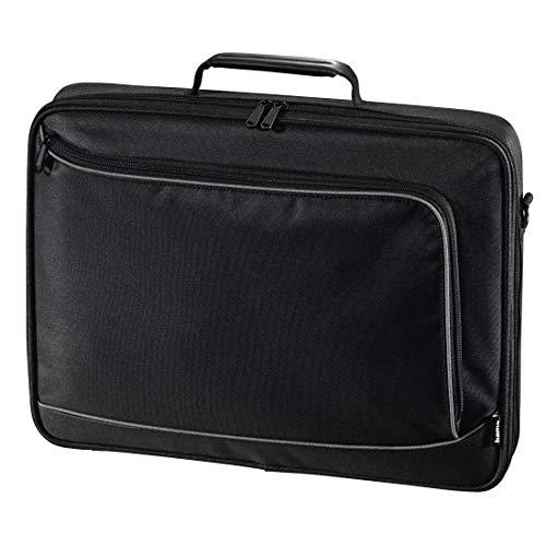 Hama Notebook-Tasche Sportsline Bordeaux (Tasche für Laptop / Notebook, Notebooktasche geeignet für Computer bis 17,3 Zoll / 44 cm Bildschirmdiagonale, Laptoptasche) schwarz