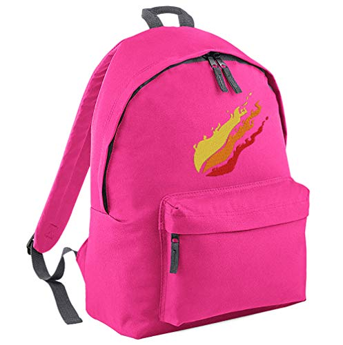 TeeIsland Junior Preston Flame Backpack (Fuchsia)