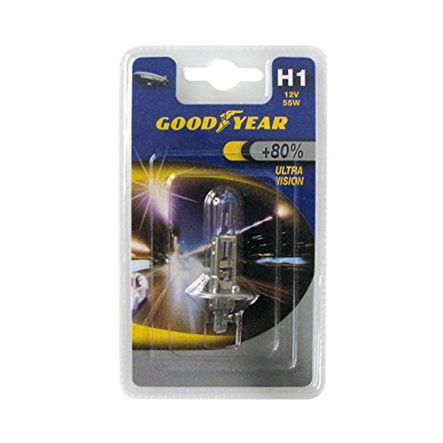 Goodyear Lampe H1 12V 55W Ultra Vision +80%