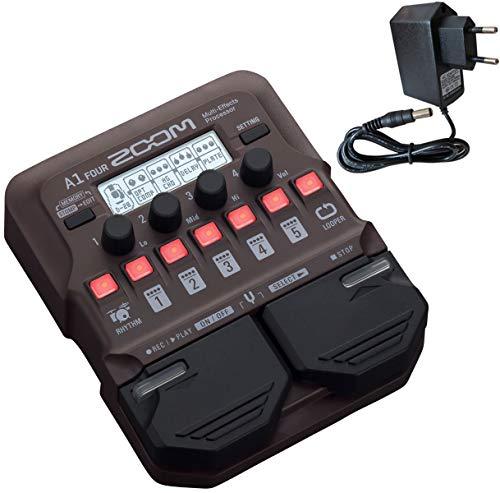 Zoom A1 Four Effektgerät für akustische Instrumente + keepdrum Netzteil 9V