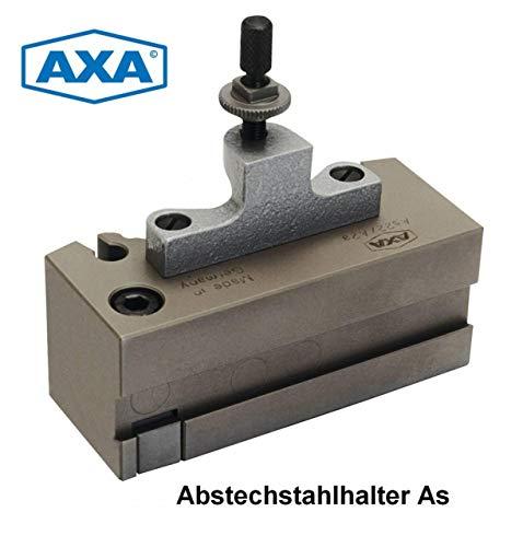 AXA Schnellwechsel - Abstechstahlhalter As-11/A0 (= MULTIFIX AA-A0) (= Größe A) / Deutsches Markenprodukt hergestellt bei AXA in Chemnitz