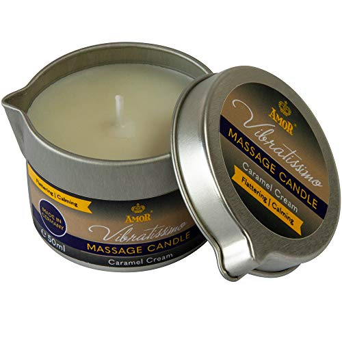 Vibratissimo Bougie de Massage au Caramel Arôme