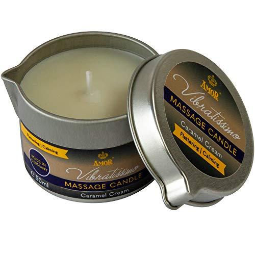 Vibratissimo Candela da Massaggio Caramel Cream, 50 ml