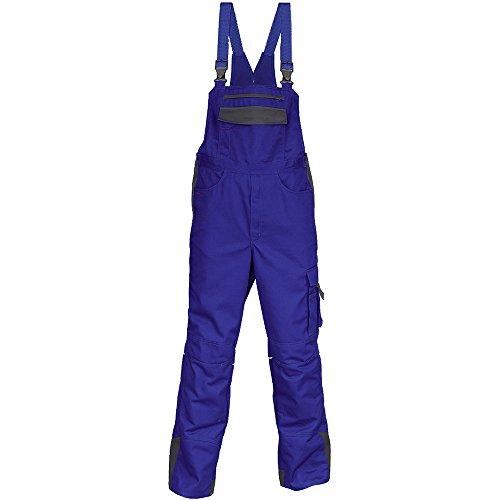 Kübler 30473315-4697-50 Arbeits-Latzhose Image Vision, kornblumenblau/anthrazit, 50